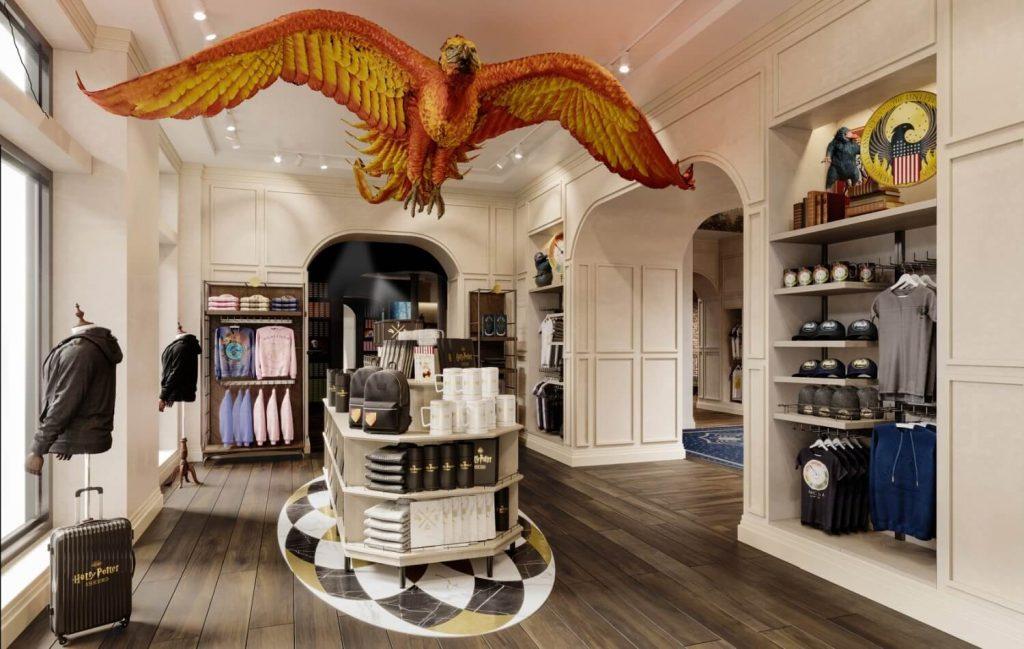 Modern Myths Nieuws 2021: Week 16 - 17: Harry Potter Flagship Store New York