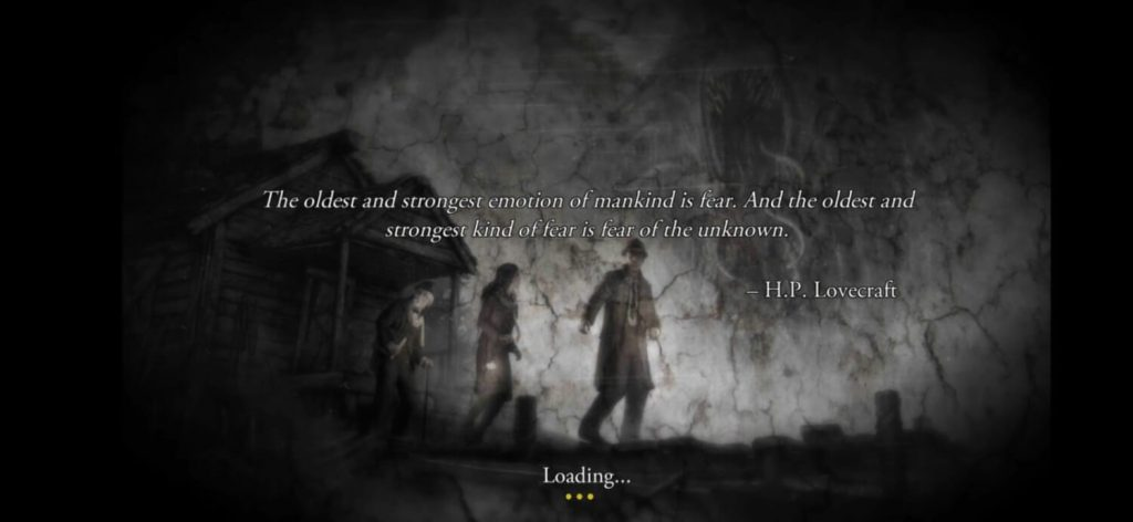 Lovecraft - Fear banner