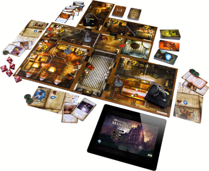 Mansions of Madness Second Edition spelbord