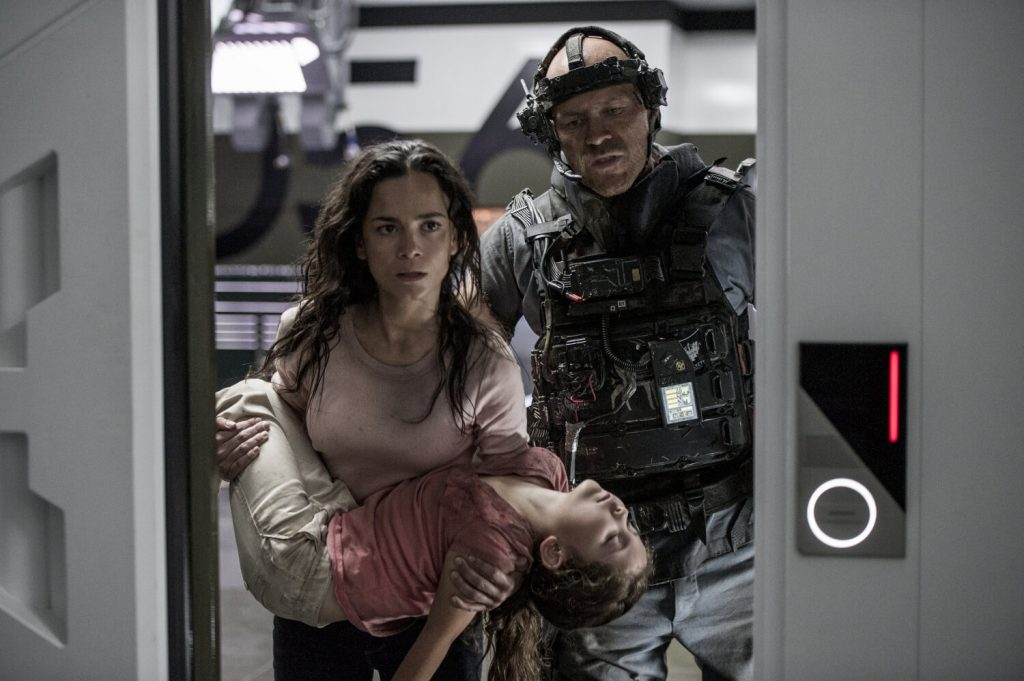 Matt Damon en Alice Braga