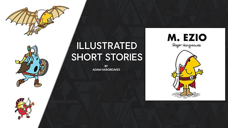 Modern Myths Nieuws 2021: Week 16 - 17: Mister Men Assassin's Creed