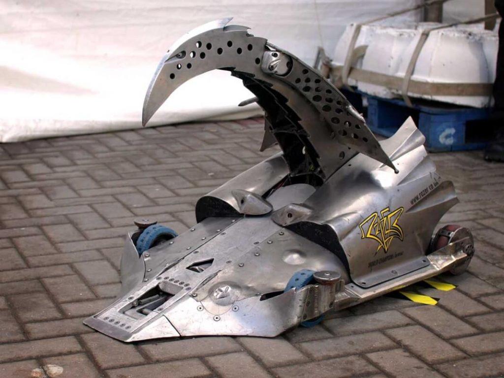 Robot Wars - Tweevoudig wereldkampioen Razer