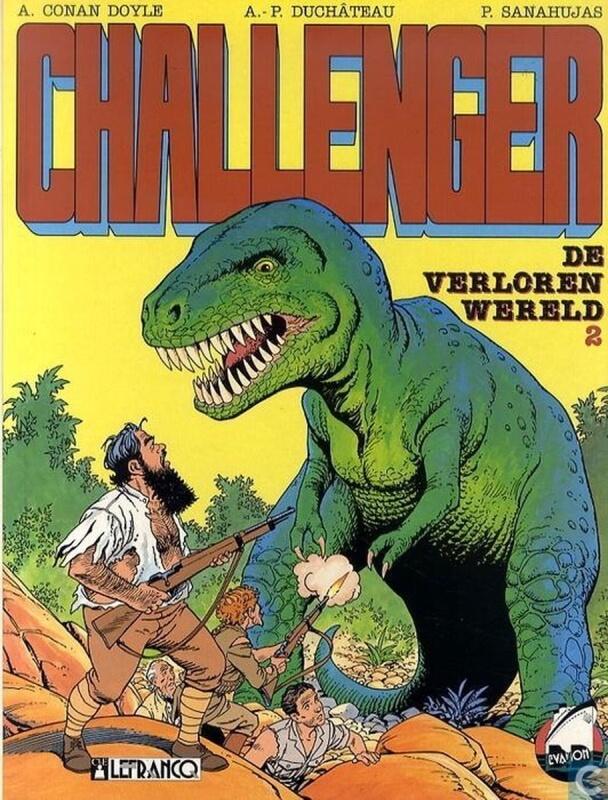 Top 5 Dinosaurus verhalen - Challenger - De Verloren Wereld 2