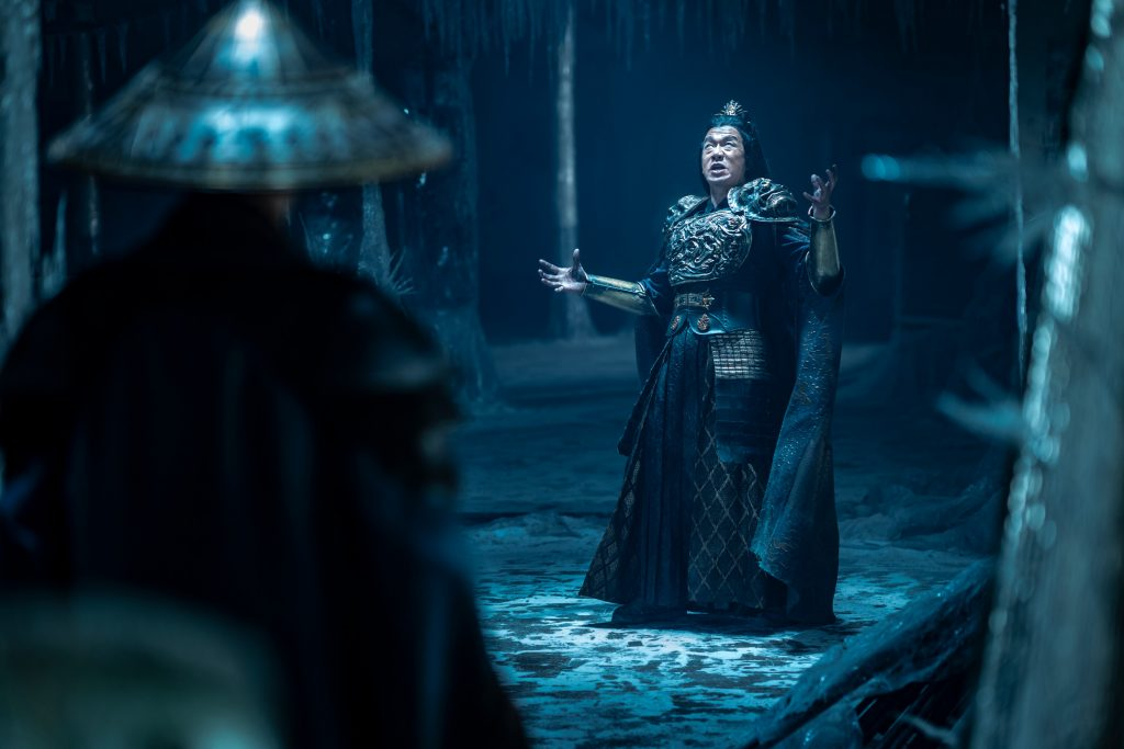 Mortal Kombat recensie - Chin Han als Shang Tsung