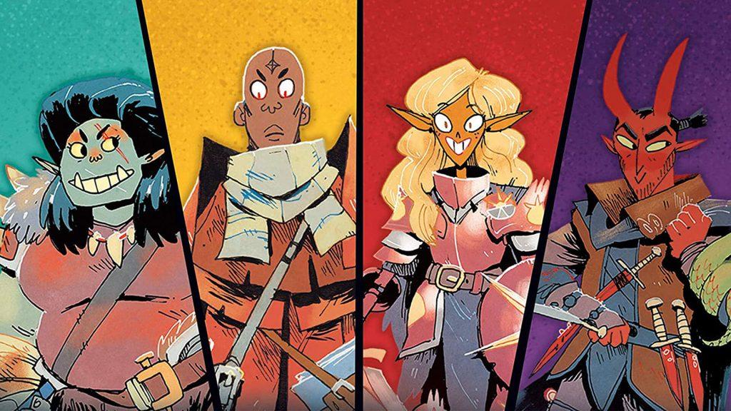Barbarian, Wizard, Paladin, Rogue