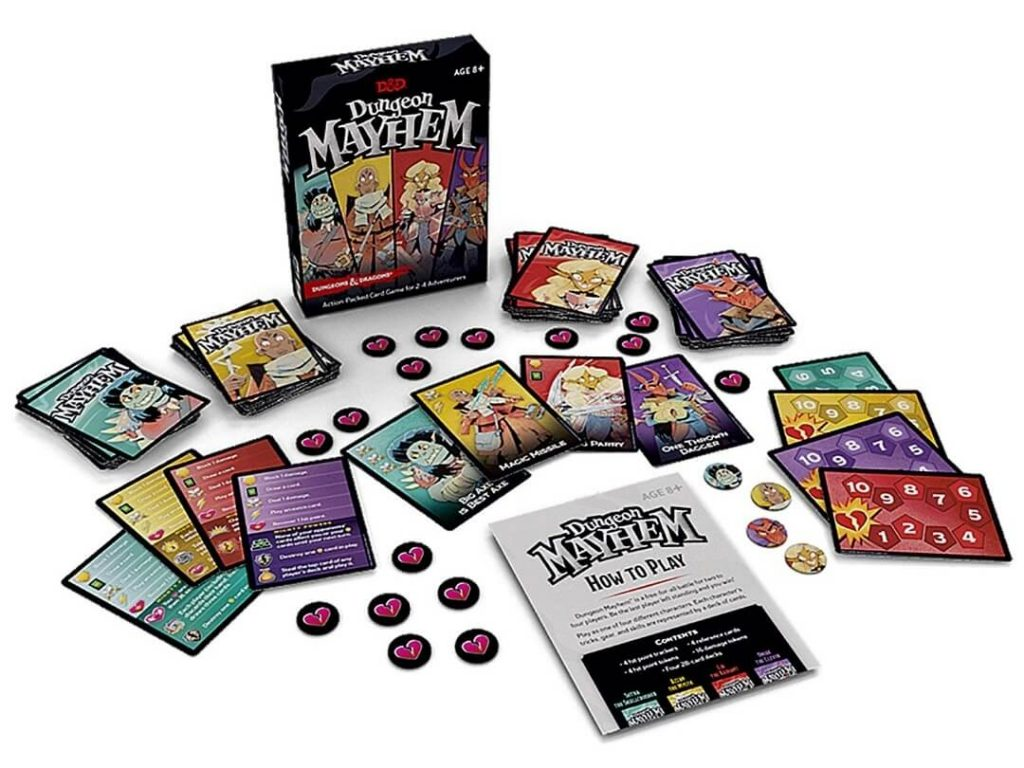 D&D Dungeon Mayhem speloverzicht