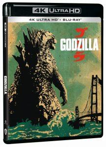 Godzilla 4K UHD packshot