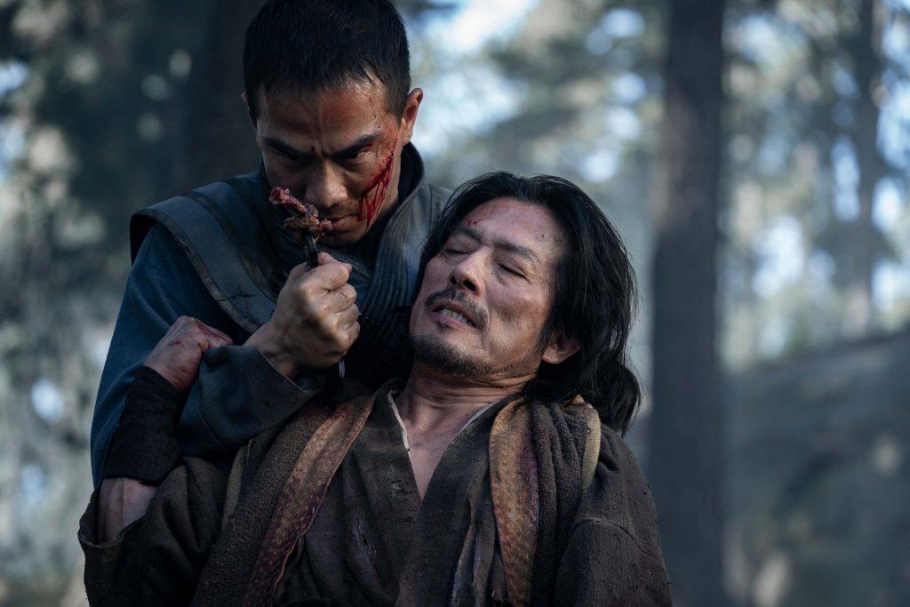 Hiroyuki Sanada als Scorpion en Joe Taslim als Sub-Zero