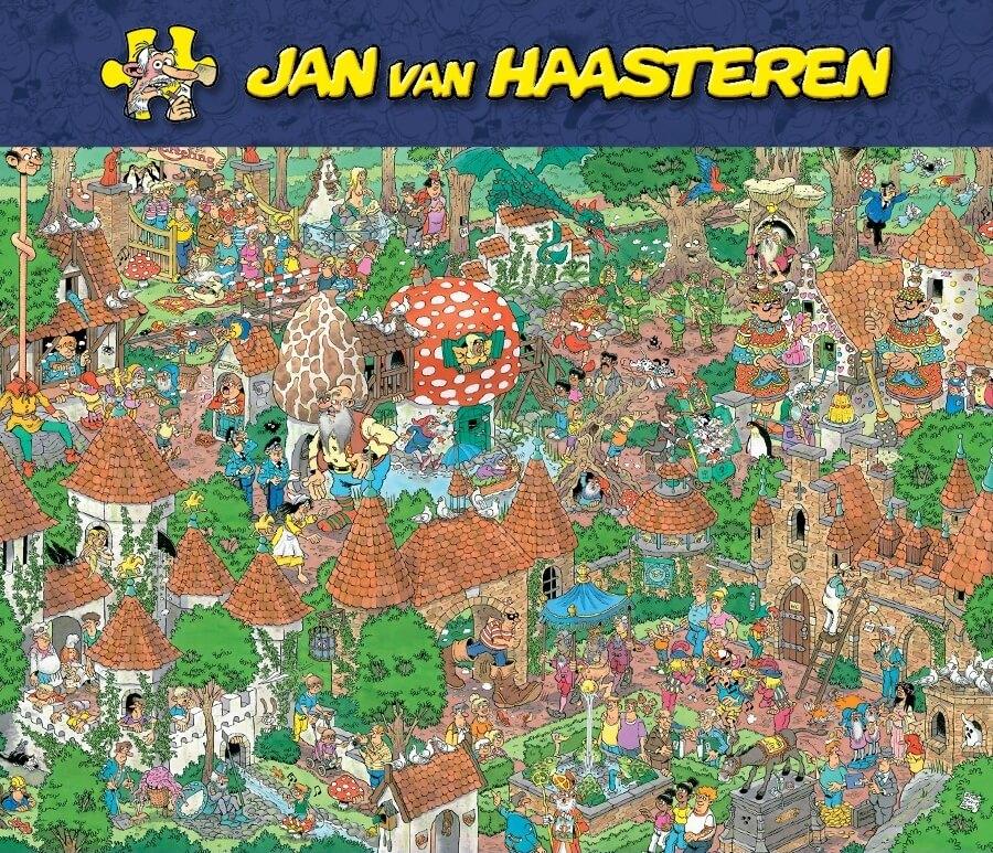 Modern Myths Nieuws 2021: Week 18 - 19: Jan van Haasteren Efteling puzzel