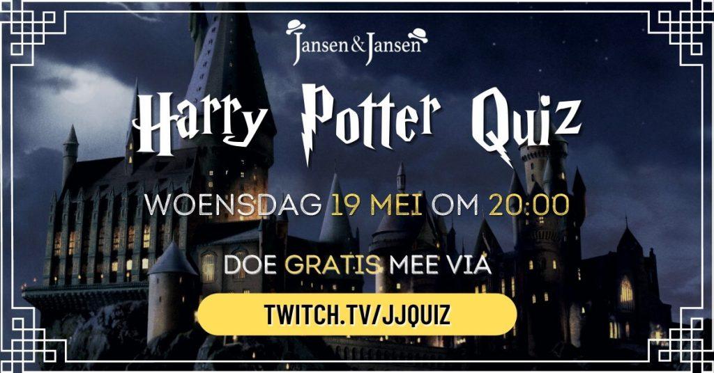 Modern Myths Nieuws 2021: Week 18 - 19: Jansen en Jansen - Harry Potter quiz