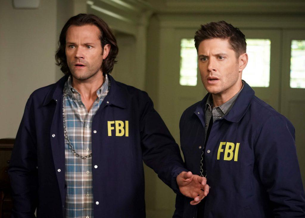 Jared Padalecki en Jensen Ackles als Sam en Dean Winchester - Supernatural seizoen 15