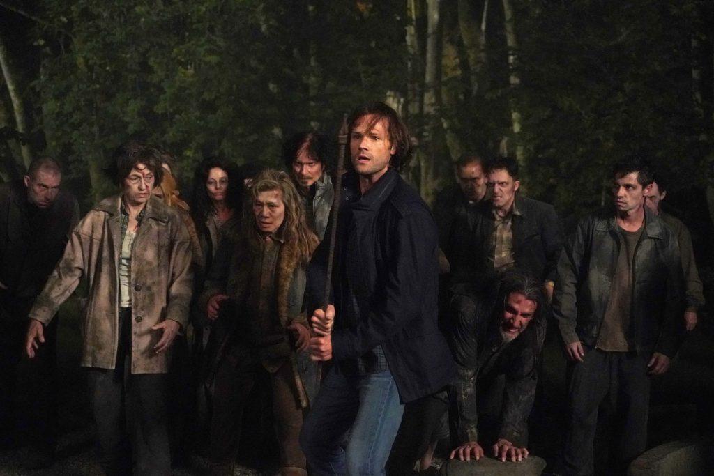 Jared Padalecki in Supernatural seizoen 15