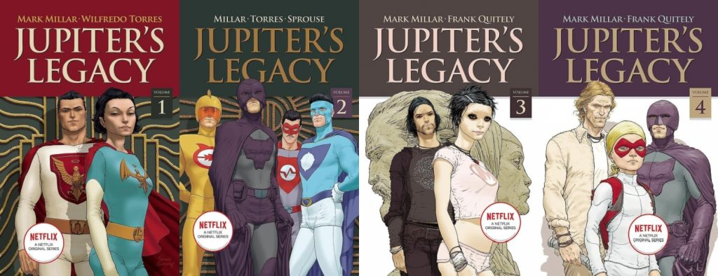 Jupiter's Legacy Vol 1 - 4 TPB