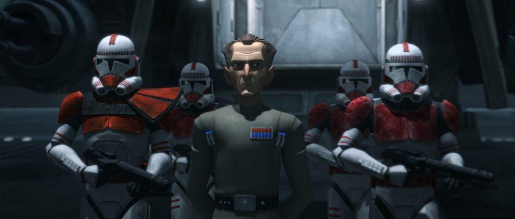 Stephen Stanton als Admiral Tarkin