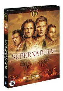 Supernatural Seizoen 15 dvd boxshot