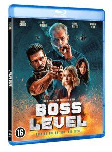 Boss Level blu-ray - packshot