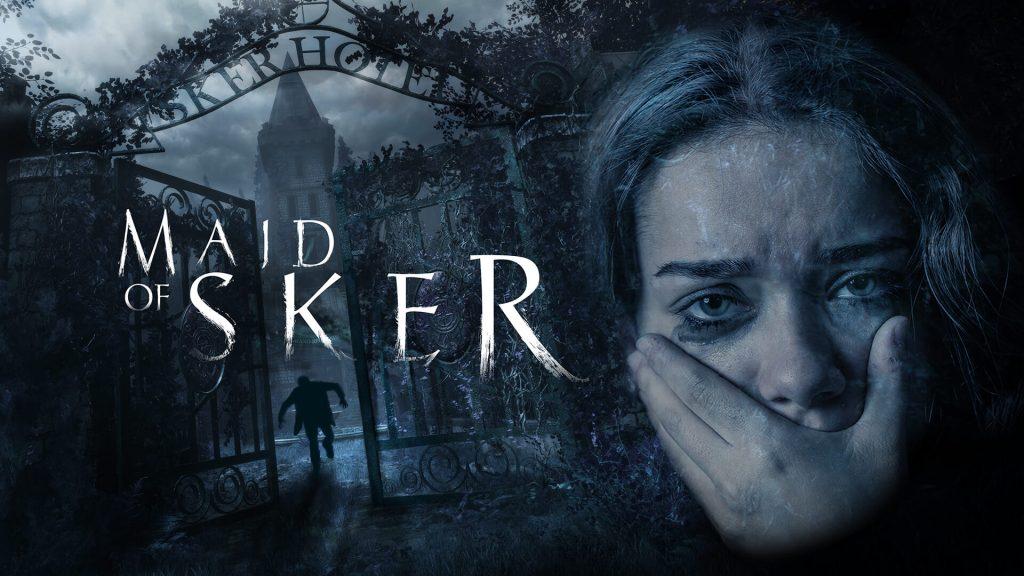 Maid of Sker - Banner