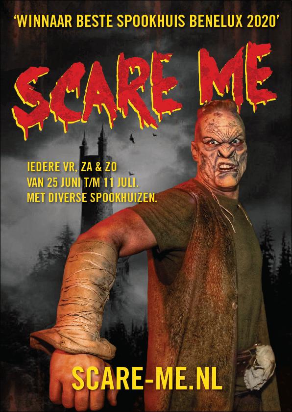 Modern Myths Nieuws 2021: Week 23 - 24 - Scare Me poster