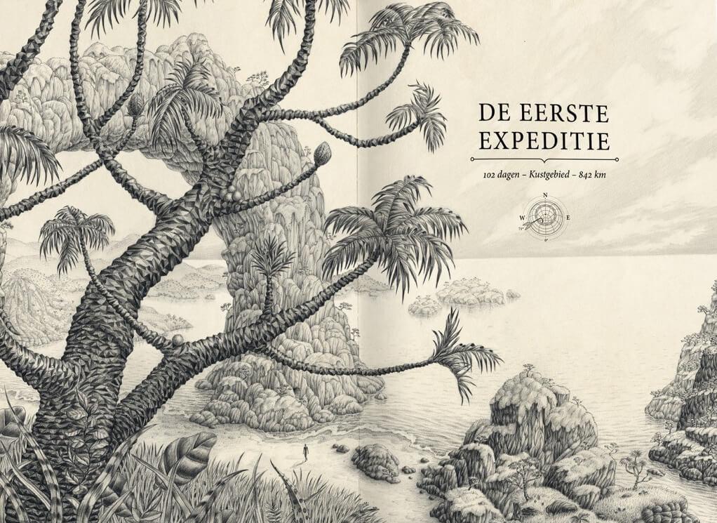 Raoul Deleo - De eerste expeditie