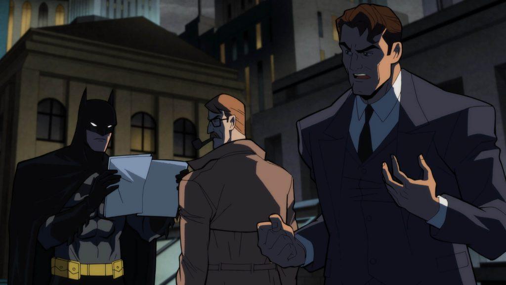 Batman, James Gordon en Harvey Dent