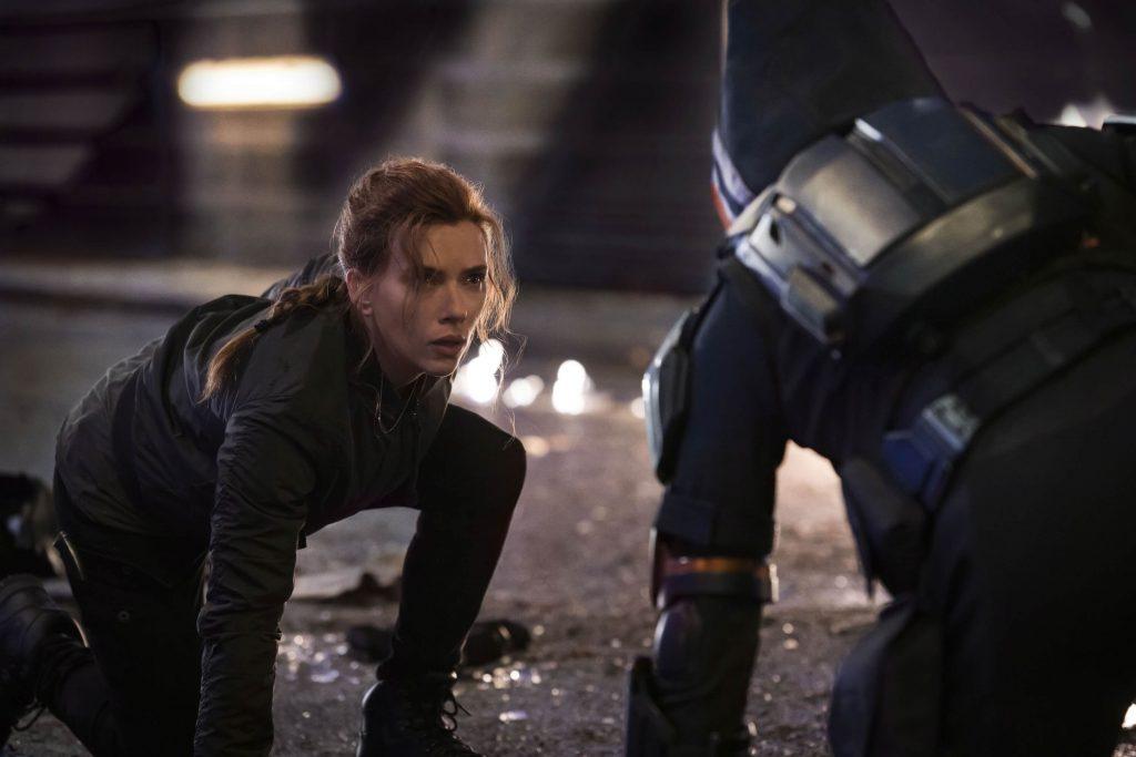 Black Widow versus Taskmaster