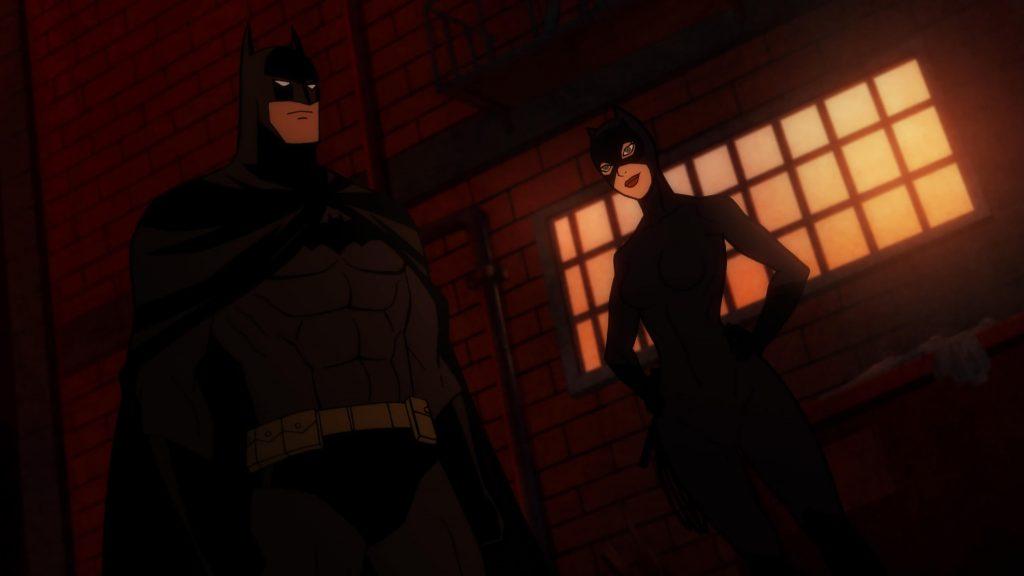 Bruce Wayne en Selina Kyle