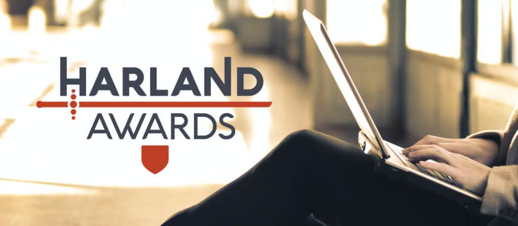 Modern Myths Nieuws 2021: Week 28 - 29 - Harland Awards 2021 logo