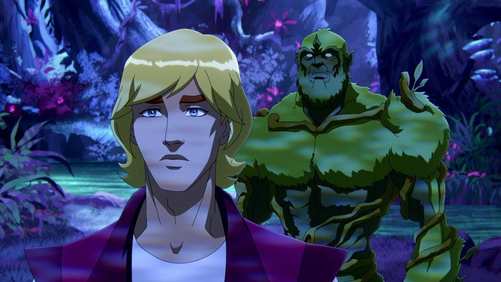 Prince Adam en Moss Man