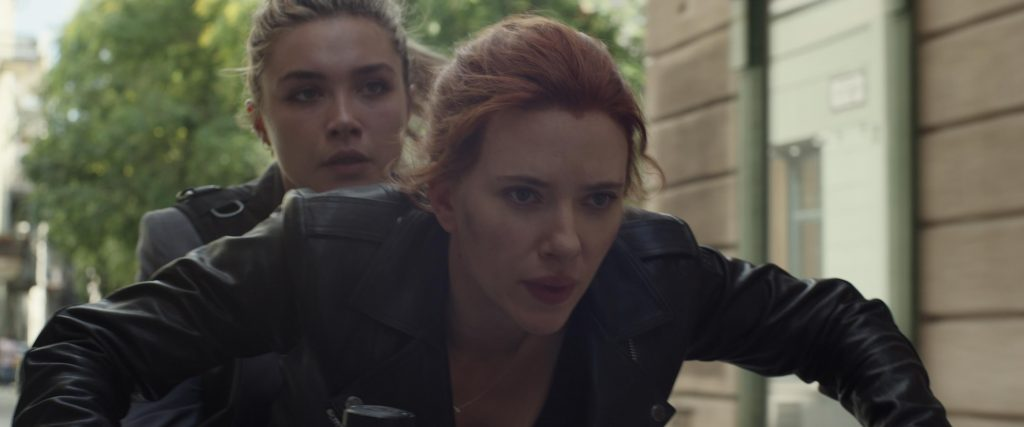 Scarlett Johansson en Florence Pugh