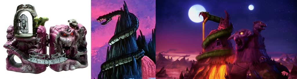 Snake Mountain evolution