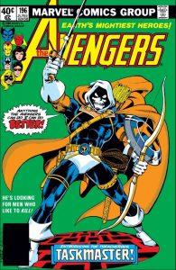 The Avengers 196 - Taskmaster
