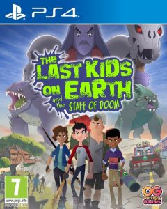 The Last Kids on Earth and the Staff of Doom - PlayStation 4 packshot