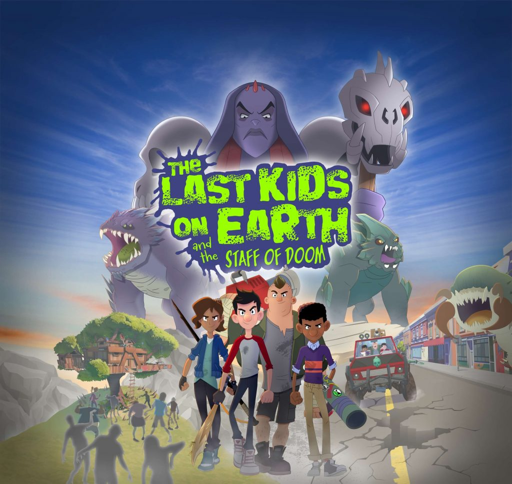 The Last Kids on Earth and the Staff of Doom recensie - banner