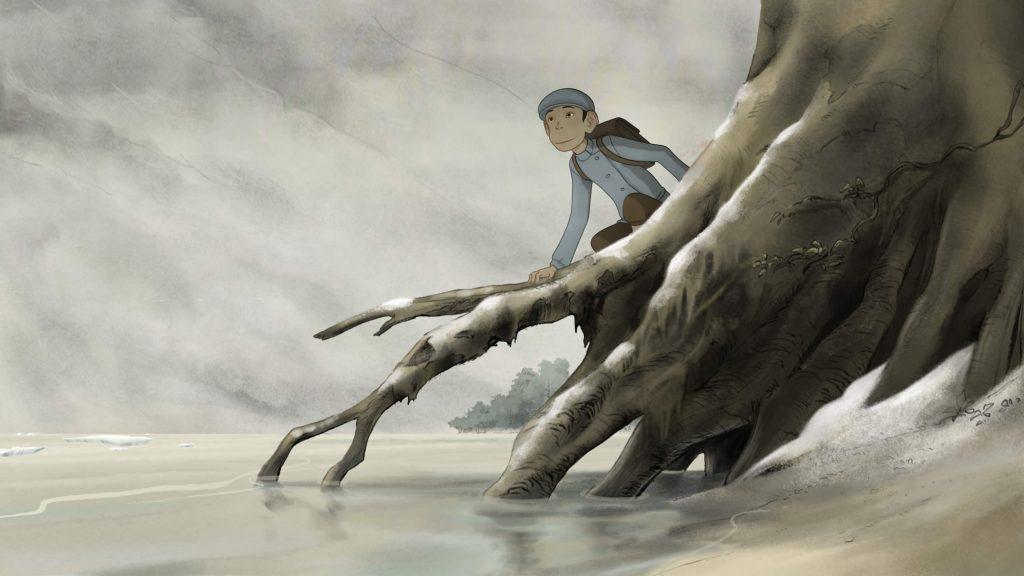 Tom in een boom