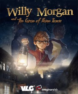 Willy Morgan and the Curse of Bone Town recensie - Poster