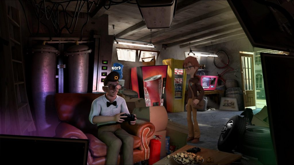 Willy Morgan and the Curse of Bone Town recensie - Willy en de nerd