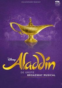 Modern Myths Nieuws 2021: Week 33 - 34 - Disney's Aladdin de musical - poster