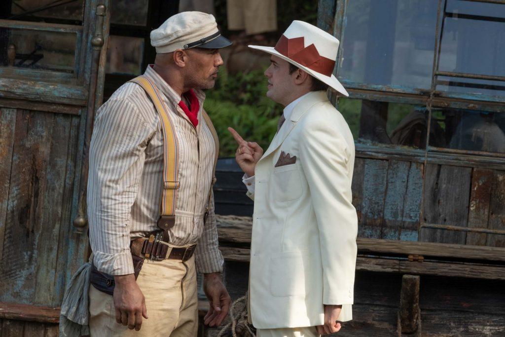 Dwayne Johnson als Frank Wolff en Jack Whitehall als MacGregor Houghton