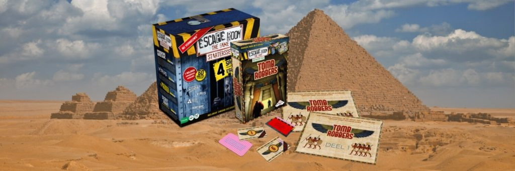 Escape Room The Game: Tomb Robbers winactie – Modern Myths