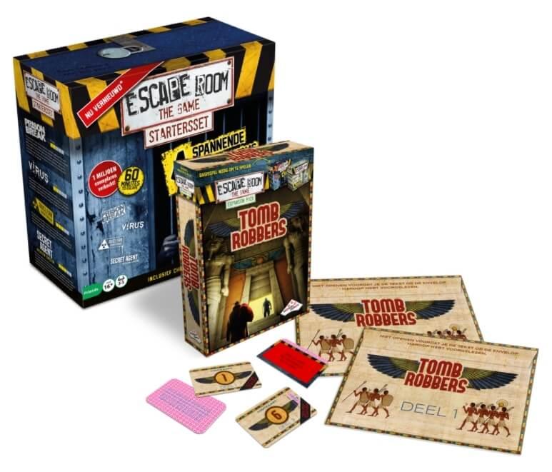 Escape Room The Game: Tomb Robbers winactie – Prijzen