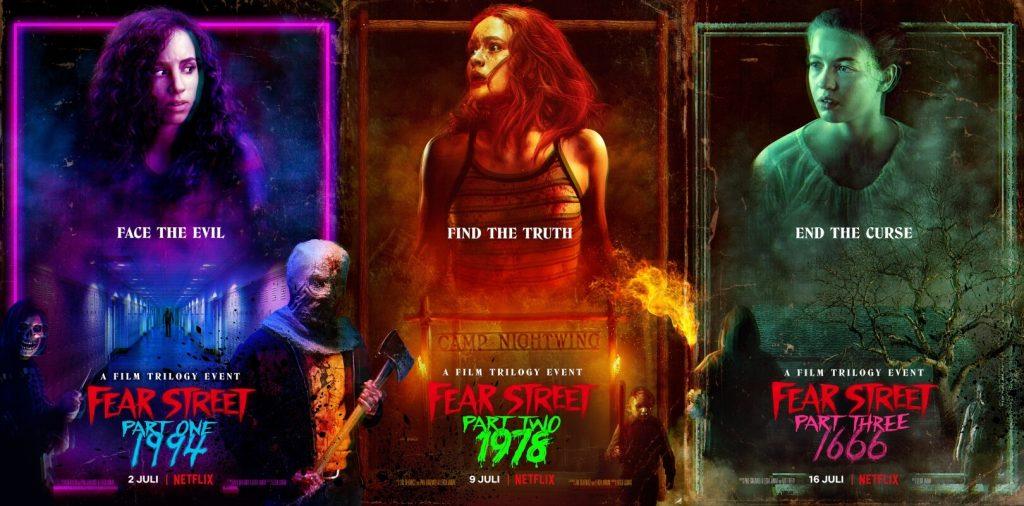Fear Street trilogie recensie - Netflix