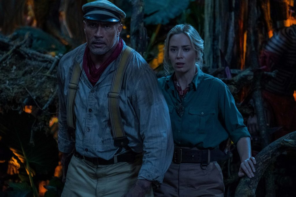 Frank en Lily in Jungle Cruise