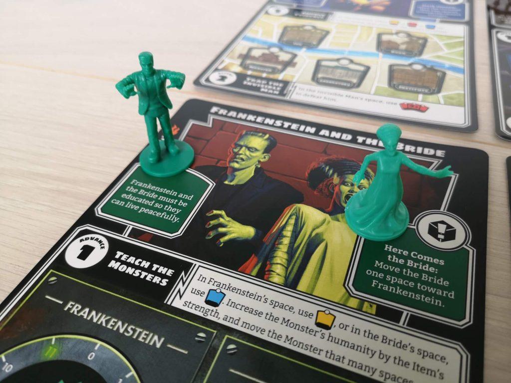 Frankenstein en The Bride