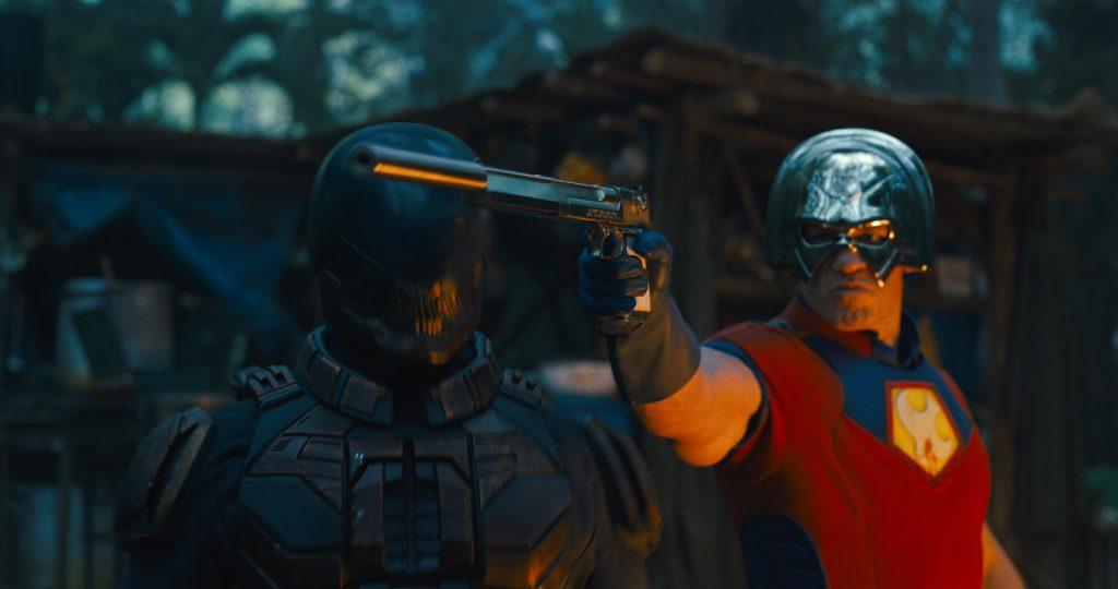 Idris Elba als Bloodsport en John Cena als Peacemaker
