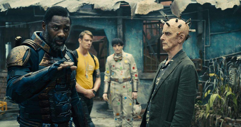 Idris Elba als Bloodsport en Peter Capaldi als The Thinker