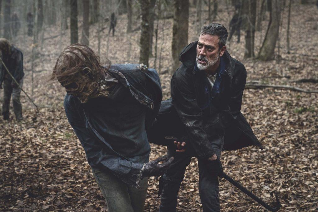 Jeffrey Dean Morgan als Negan in The Walking Dead Seizoen 11