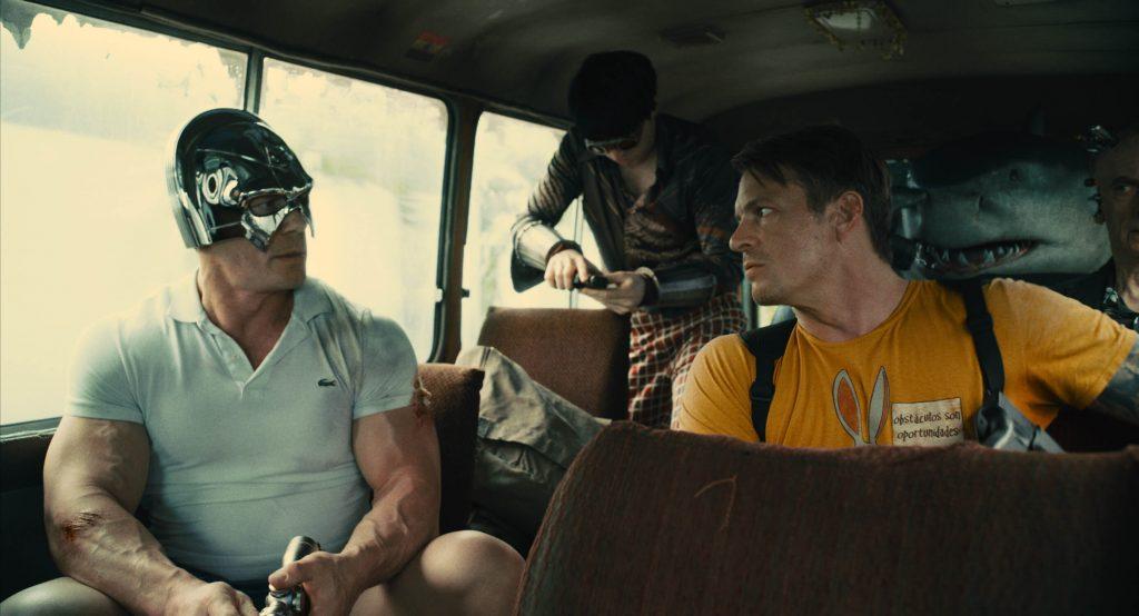 John Cena als Peacemaker en Joel Kinnaman als Colonel Rich Flag