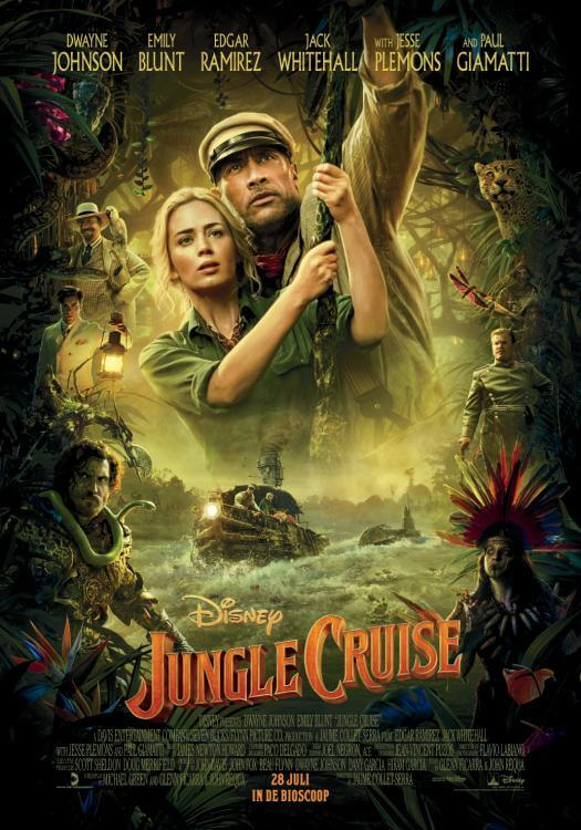 Jungle Cruise recensie - Poster