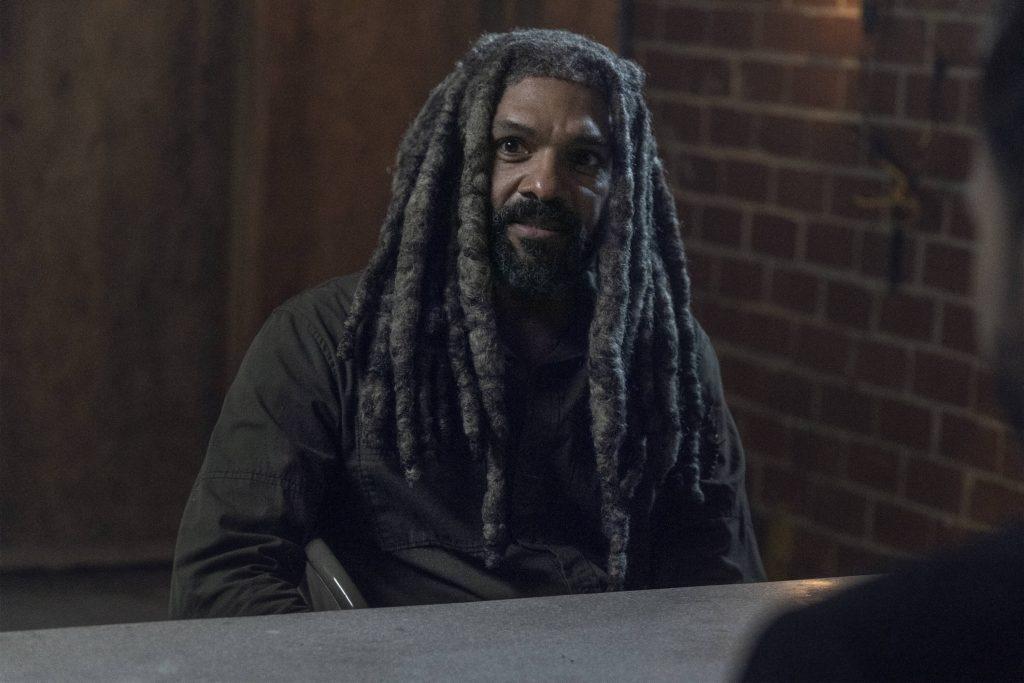 Khary Payton als Ezekiel in The Walking Dead S11