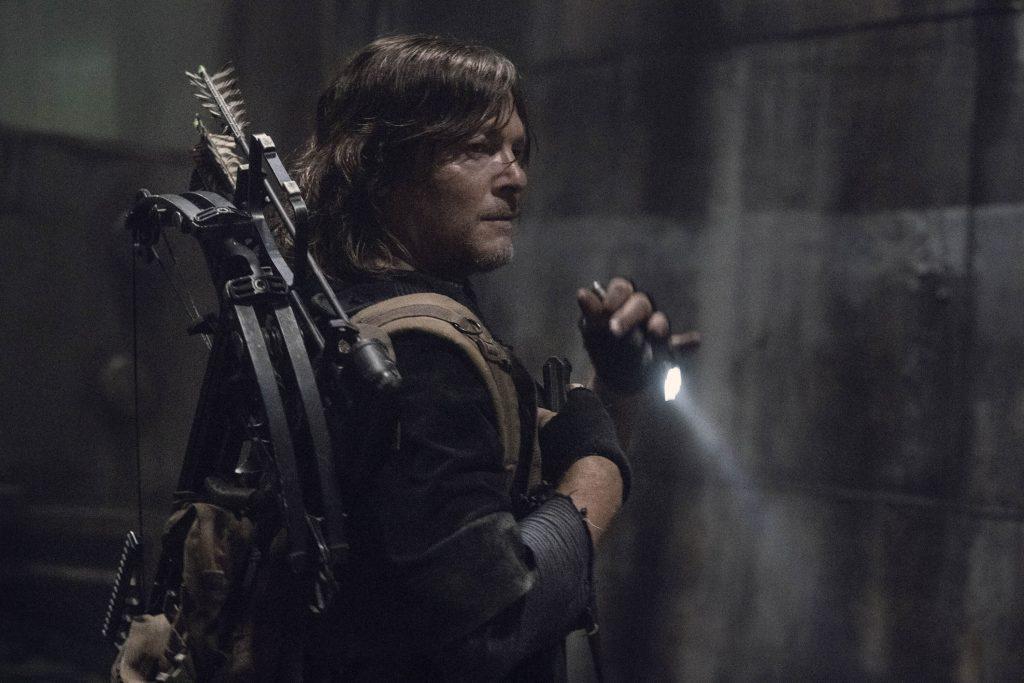 Norman Reedus als Daryl in The Walking Dead seizoen 11